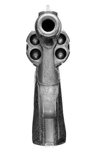 <p>Getting this close to the business end of a gun is usually not a good thing. The Point Blank Project is a series of gun photographs that aims to eventually capture 100 different pistols in extreme, in-your-face detail.</p>