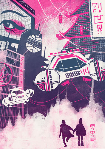 "<p>Noah Macmillan. ""Blade Runner presents such an immersive, detailed universe--perfect for exploring from a variety of perspectives,"" James O. tells Co.Design.</p>"