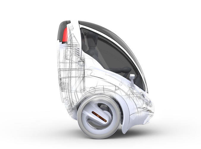 <p>The Citi.Transmitter <a href=&quot;http://www.fastcoexist.com/1681133/a-two-wheeled-electric-vehicle-to-zip-through-city-streets&quot; target=&quot;_self&quot;>is an adorable single seat modular transportation device</a>, designed to solve our urban traffic problems.</p>