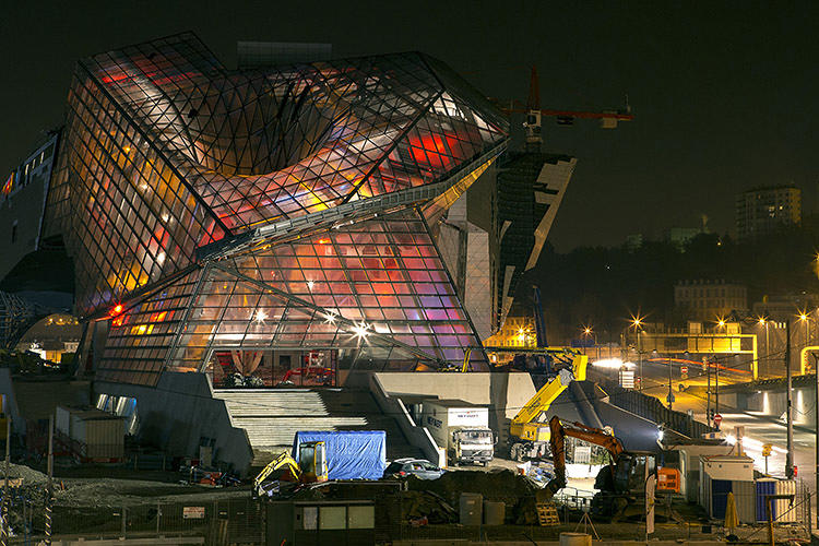 <p>The Musée des Confluences, set to open in 2014, was designed by Vienna-based architecture firm Coop Himmelb(l)au.</p>