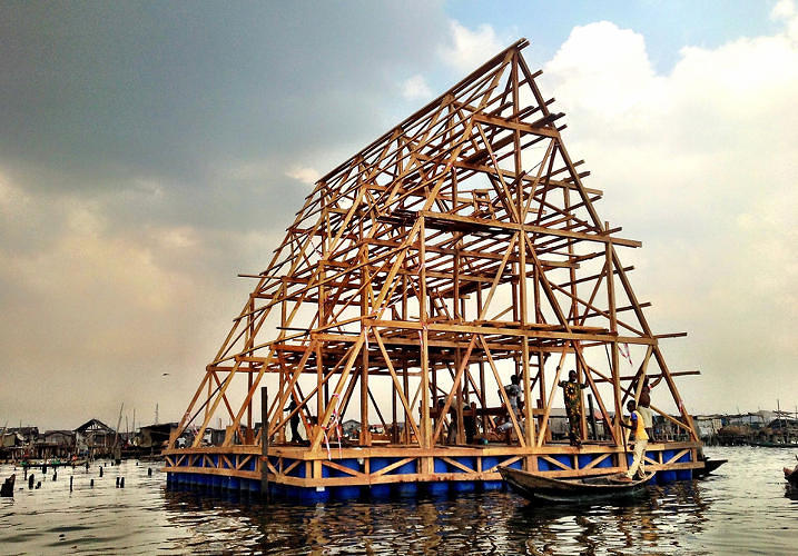 <p>Designed for a flood-prone area of Nigeria,<a href=&quot;http://www.fastcoexist.com/1681346/a-floating-school-that-wont-flood&quot; target=&quot;_self&quot;> this floating school would keep students in school even after the heaviest rains.</a></p>