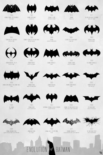 <p>Holy infographics! Batman's worn a lot of crazy symbols on his chest and hurled a number of improbably shaped batarangs at villains over the years. How many? <a href=&quot;http://www.fastcodesign.com/1671493/infographic-the-evolution-of-the-batman-logo-from-1940-to-today&quot; target=&quot;_self&quot;>This many</a>. Trace the evolution of the Batman logo thanks to this handy chart that proves the Caped Crusader is a design nerd, too.</p>