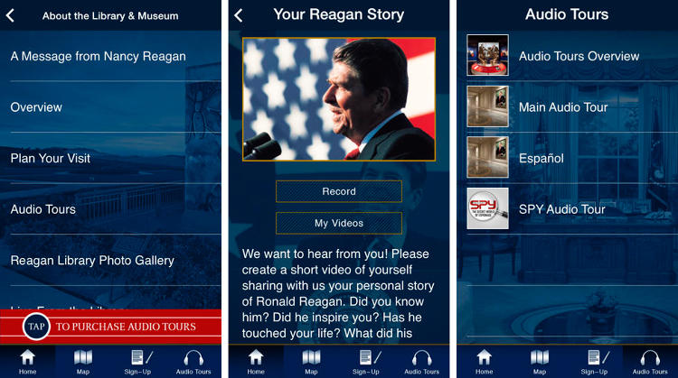 <p>Politics and parties aside, you should know your presidential history. Luckily, if you don't want to search for or carry around books, the Ronald Reagan Presidential Foundation and Library has come out with a brand new app full of pictures, speeches, stories, and more. (<a href=&quot;https://itunes.apple.com/us/app/ronald-reagan-official-app/id731692017?mt=8&quot; target=&quot;_blank&quot;>iOS</a> and <a href=&quot;https://play.google.com/store/apps/details?id=com.cortinaproductions.rrplpublic&quot; target=&quot;_blank&quot;>Android</a>)</p>