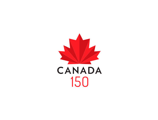 <p>Carmel Dias<br /> Senior designer <br /> Carmeldias.com<br /> To create a logo that represents 150 years of Canada in 4 days is hard. However, after seeing the proposed logos I thought I'll give it a try. Like all good design I wanted to keep it clean and simple. I decided to used the traditional 11-pointed red maple leaf but gave it a modern look to it. A mix of old with the new. Hope you like it.</p>