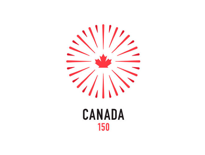 <p>Jonathan Mutch<br /> Graphic Designer <br /> John St.</p>  <p>When I started thinking about Canada Day, and how I've celebrated this great country on this day all my life – I instantly thought of standing amongst thousands of fellow countrymen and women to watch the spectacle that is the Canada Day fireworks show. The logo is meant to represent that feeling – the obvious connection to the explosion of colour while watching the show, and the unity you feel amongst friends, strangers, relatives and neighbours as you stand in celebration of this great country.</p>