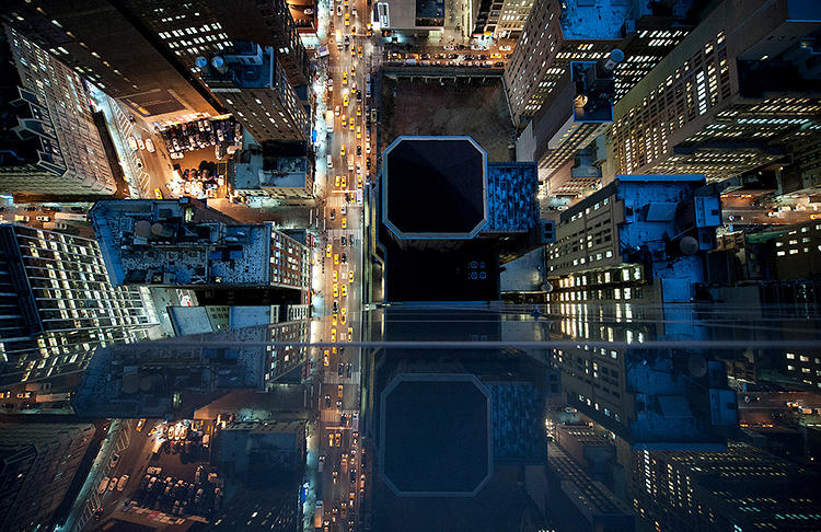 <p>As he dangled over the edges of building rooftops, Baraty said he felt like he was seeing the heart of the city.</p>