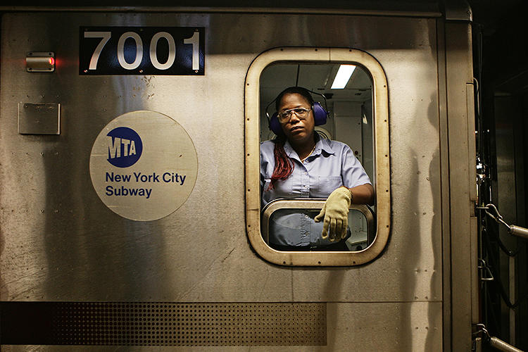 <p>The city's subway car drivers help move 1.7 billion commuters a year.</p>