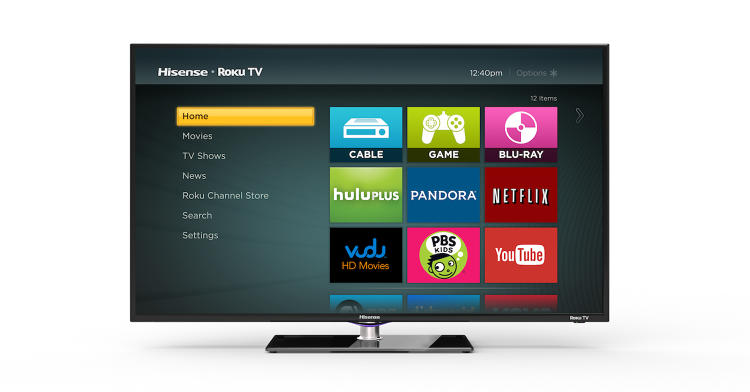 <p>There will be six Roku TV models on the CES show floor, manufactured by Hisense and TCL.</p>