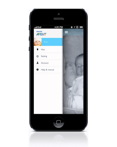 <p>The monitor also includes a Wi-Fi redundant link and an app that grandparents can download to see the baby when they're out of the home.</p>