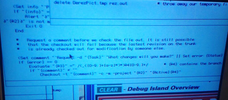 <p>&quot;In <em>Jurassic Park</em> there is unknown but real looking source code (possibly for an SGI UNIX machine).&quot;</p>