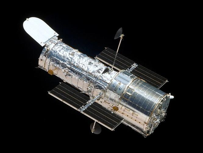 <p>NASA's Hubble Space Telescope was launched in 1990 and is the first major optical telescope to be placed in space. Since then it has captured more than 570,000 images of 30,000 celestial objects. <a href=&quot;http://news.nationalgeographic.com/news/2005/04/photogalleries/hubble/&quot; target=&quot;_blank&quot;>Hubble has helped</a> to discover <a href=&quot;http://science.nasa.gov/astrophysics/focus-areas/what-is-dark-energy/&quot; target=&quot;_blank&quot;>dark energy</a>, determine the age of the universe, and capture the the deepest views of the cosmos.</p>