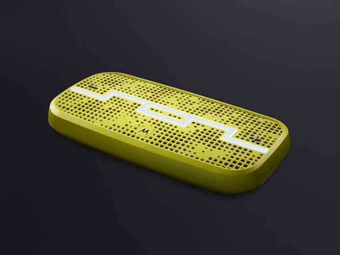 <p>Deck by Sole Republic and Motorola encourages multiple users to &quot;<a href=&quot;http://solrepublic.com/shop/deck-wireless-speaker.html&quot; target=&quot;_blank&quot;>steal&quot; control of the playlist</a> from each other.</p>