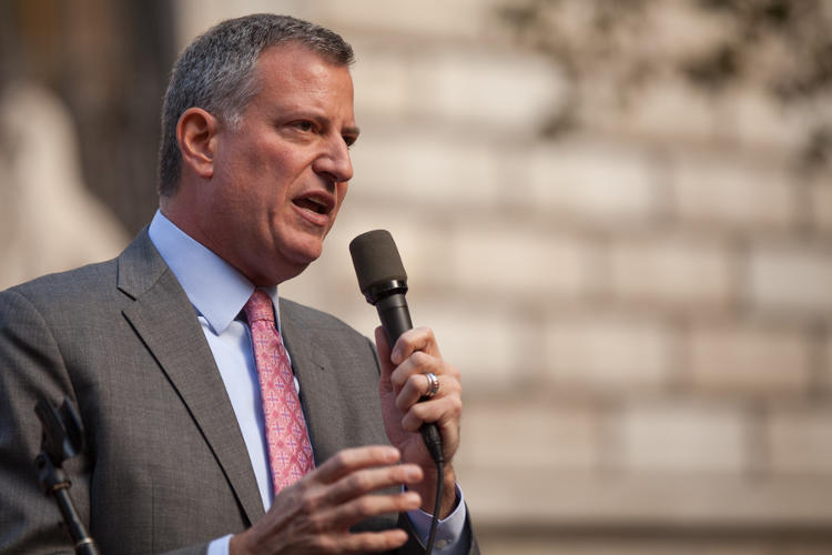 <p>NYC Mayor Bill de Blasio takes the reins determined to tackle the city's inequalities. <em>Read more: <a href=&quot;http://www.fastcoexist.com/3026277/mayor-de-blasio-lays-out-his-vision-for-a-more-equitable-new-york-city&quot; target=&quot;_self&quot;>Mayor de Blasio Lays Out His Vision For A More Equitable New York.</a></em></p>
