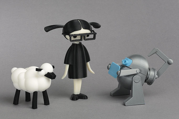 <p>The characters of LEO The Maker Prince don't just exist in the book: they can also be printed out on a 3-D printer.</p>
