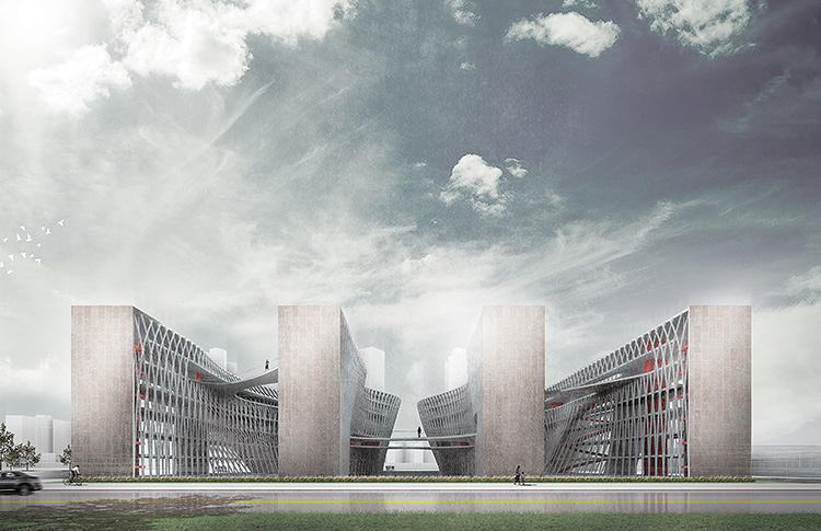 "<p>""PriSchool&quot; is a design for a joint prison and school that could help prepare inmates for life outside.</p>"
