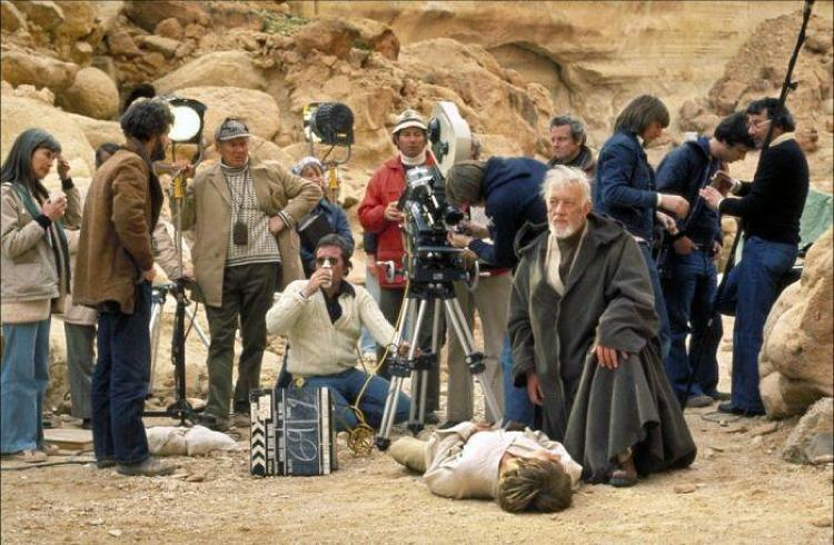 <p>It takes a village to make a movie.</p>