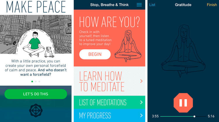 <p>You need to meditate. You also need to be more mindful. So why not get an app that can help you do both?</p>