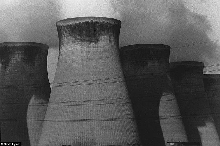 <p>Shot in Berlin, Poland, New York, New Jersey, and England from 1980 to 2000, these 80 black-and-white images depict desolate industrial landscapes without a human soul in sight. A power plant in the late 1980s in northern England belches steam.</p>