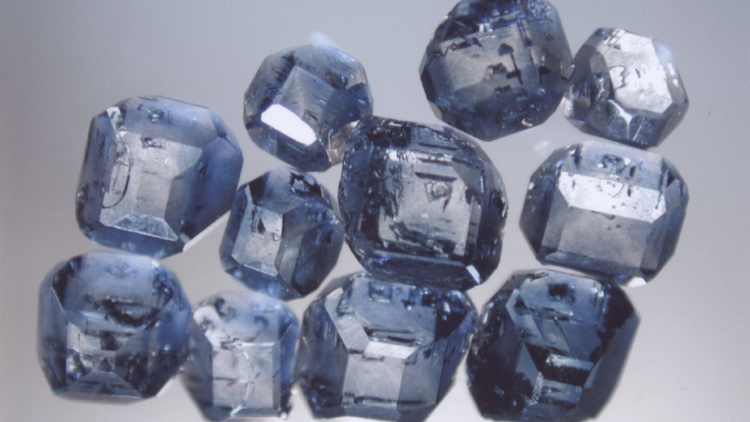 Algordanza Memorial Diamonds Have A Bluish Color