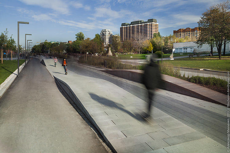 <p>It's also the first 'year-round' park in the center of Moscow.</p>