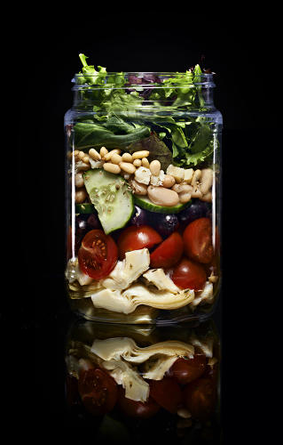 <p>Each of the vending machine's offerings is carefully balanced nutritionally for the most health benefits.</p>