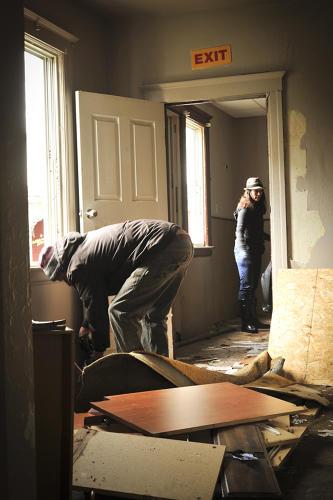 <p>Finally, they figured out an acceptable plan: Writers accepted into the program will lease the homes from the nonprofit for two years, for a small amount to cover taxes and insurance.</p>