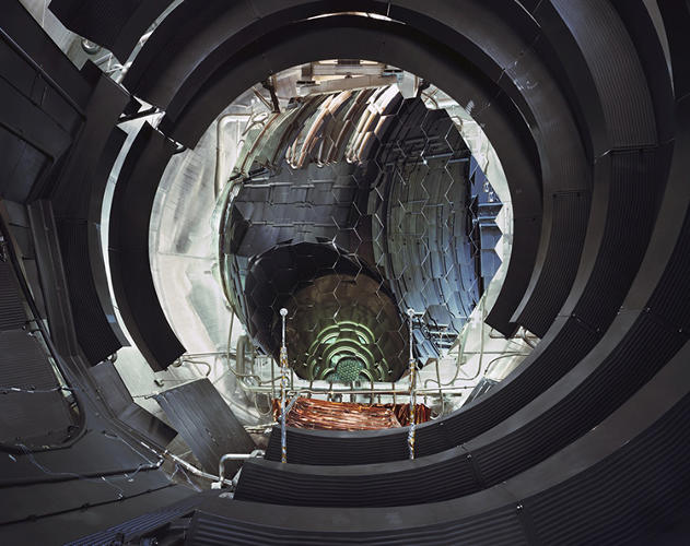 <p>Interior of Large Space Simulator Vaccum Chamber, ESTEC/ESA (Noordwijk, The Netherlands)</p>