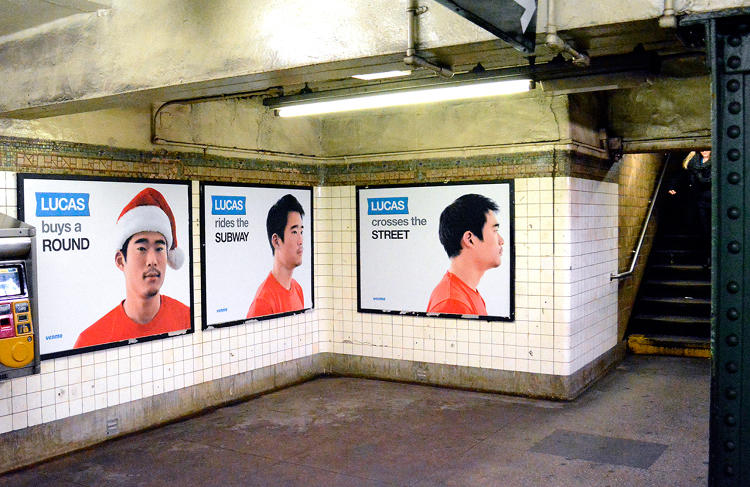 <p>But with vague messaging and those empty eyes, the campaign has drawn extreme reactions from subway riders, many of whom despise the Lucas ads. Who is Lucas? What is Venmo? Why is his half-stache so creepy? The ads have created more confusion than awareness.</p>