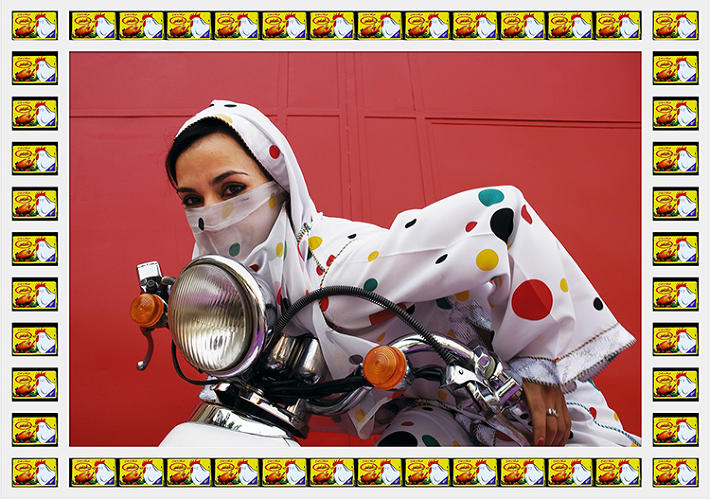 <p>Marrakesh, Morocco is a city overrun with motorcycles, and female bikers are as common as male.</p>