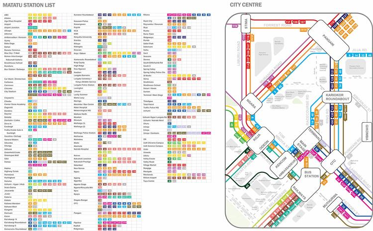 <p>A group of researchers, designers, and students has mapped out the city's 130 transit routes and created an open dataset that can be updated anytime.</p>