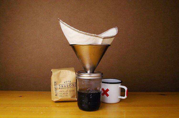 <p>Its latest design is the Pour Mason, a  coffeemaker that is specifically aimed at the home canning contingent.</p>