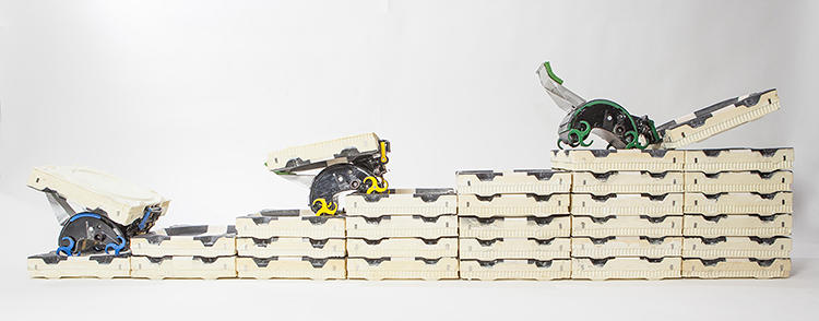 <p>Werfel and colleagues have been building robots that can replicate termite thinking patterns in order to build massive structures without a central blueprint.</p>