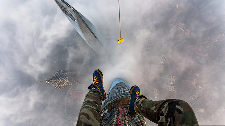"<p>Fearless explorers Vitaliy Raskalov and Vadim Makhor are ""Skywalkers"" who regularly (and illicitly) scale the heights of some of the world's tallest attractions.</p>"