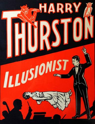 <p>A rare 1930 lithograph for illusionist Harry Thurston, Howard Thurston's younger brother, who had ties with the Chicago mob scene.</p>