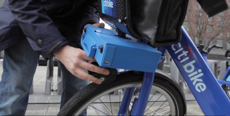 <p>This turbo kit turns clunky, 45-pound bike-share bikes into much faster rides.</p>