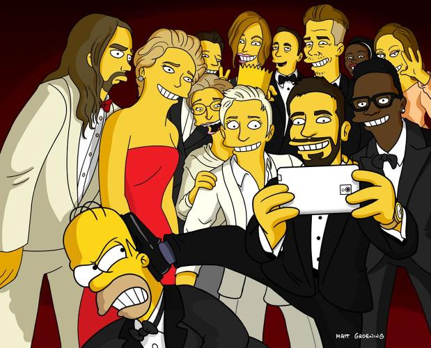<p>@HomerJSimpson: <a href=&quot;https://twitter.com/HomerJSimpson/status/441009474699280384&quot; target=&quot;_blank&quot;>The ugly true story of that Oscar® selfie can finally be told! Let's break Twitter again. Look for Bart. </a></p>