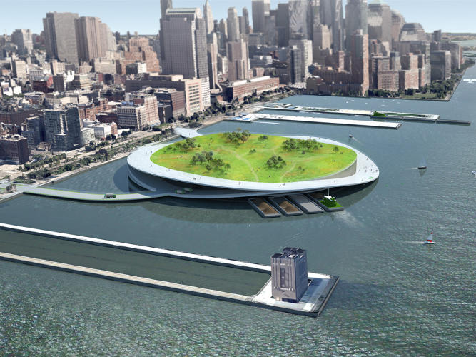 <p>With 10 beautiful hubs, two architects re-imagine New York City as a composting utopia.</p>