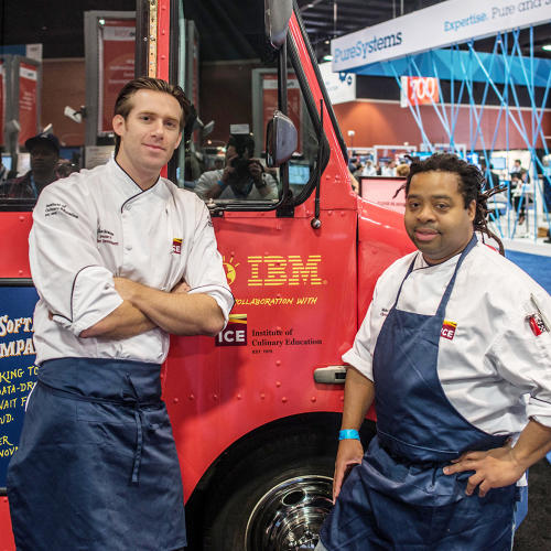 "<p>The Watson team is developing cognitive cooking in collaboration with award-winning chefs at New York's Institute of Culinary Education, James Briscione, and Michael Laiskonis (not pictured). ""Creativity everywhere is based on previous experience,"" says Briscione. ""We look back to a smell, a sight, a dish from our childhood to recreate something we experienced. This system gives us a blank slate and takes us to places we've never been before.""</p>"