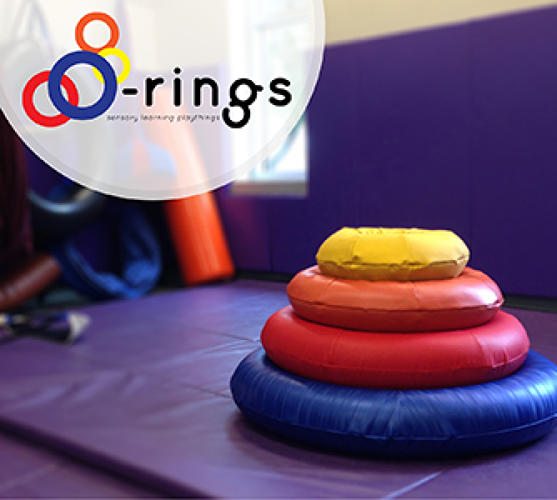 <p>Maeve Jopson and Cynthia Poon, both recent graduates at the Rhode Island School of Design, created O-Rings after meeting a blind girl who had trouble finding toys she could play with friends. Their solution is a set of stackable rings that vary in size, weight, density, texture, and color. The kids can choose to play with them how they wish--stack them, toss them, roll them, build obstacle courses--and the toy helps them improve their motor skills.</p>