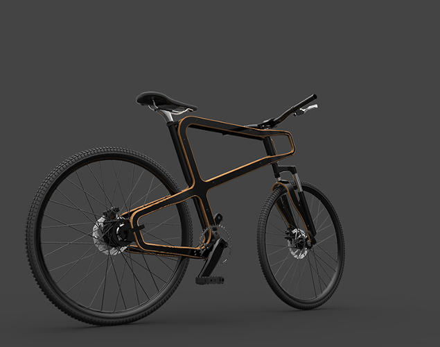 <p>Though it's made from wood, Gestoso says the bike will be as strong as a typical aluminum frame. It probably won't be as durable.</p>