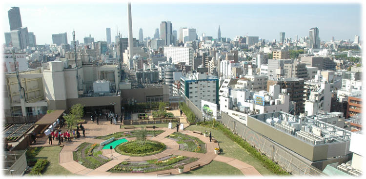 <p>&quot;We're promoting the greening of the city,&quot; says Makoto Kawada, a spokesperson for East Japan Railway Company, which runs train lines throughout Japan.</p>