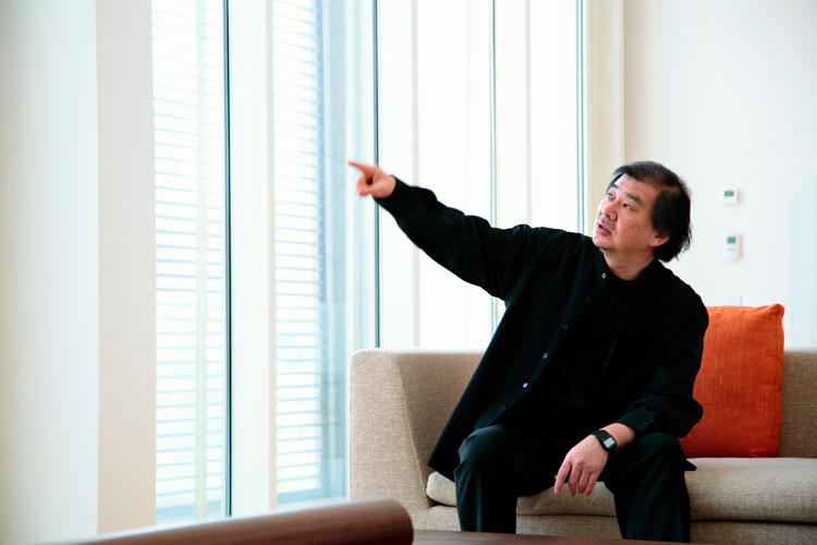 <p>Japanese architect Shigeru Ban is the winner of the 2014 Pritzker Architecture Prize, one of the most prestigious awards in the field.</p>