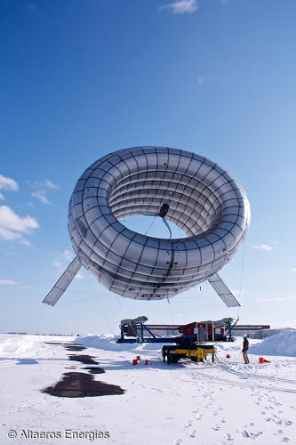 <p>Floating a turbine at 1,000 feet has its advantages.</p>