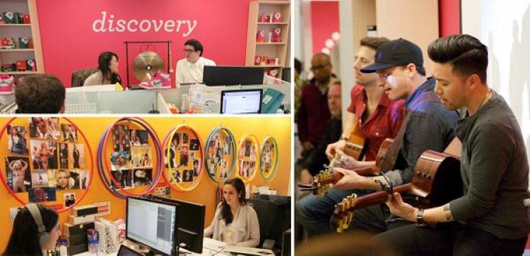 <p><a href=&quot;http://www.birchbox.com/&quot; target=&quot;_blank&quot;>Birchbox</a> keeps its people inspired with office concerts, the diva cave, an in-house gong, and more.</p>