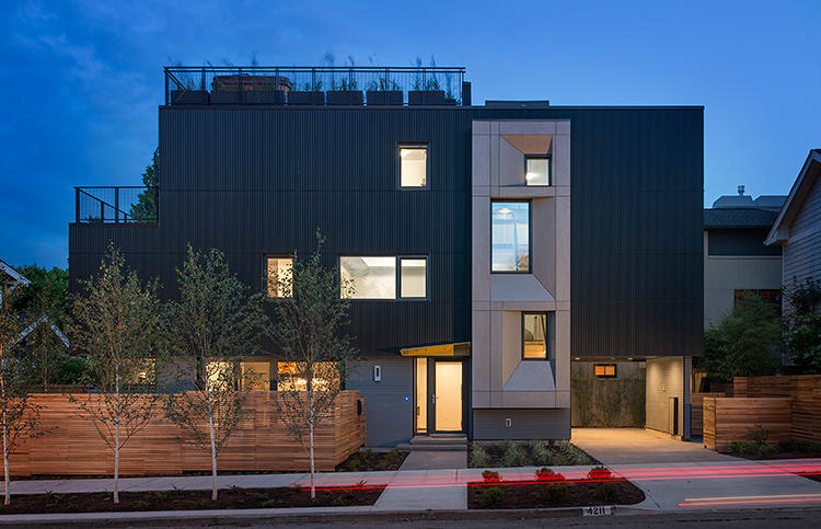 <p>Seattle's first certified Passive House, a 3-story modern home, reduces energy consumption by 90% without sacrificing aesthetics.</p>