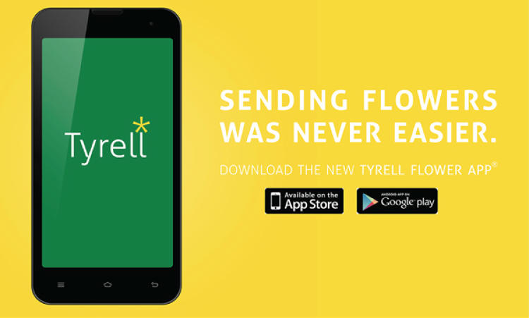<p>...becomes a flower delivery app.</p>