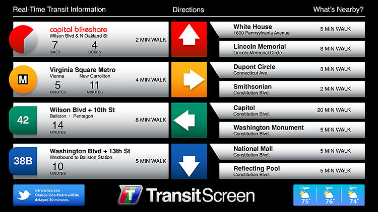 "<p>""We like to say we're trying to make alternative modes of transit cool and easy,"" says TransitScreen co-founder Ryan Croft.</p>"