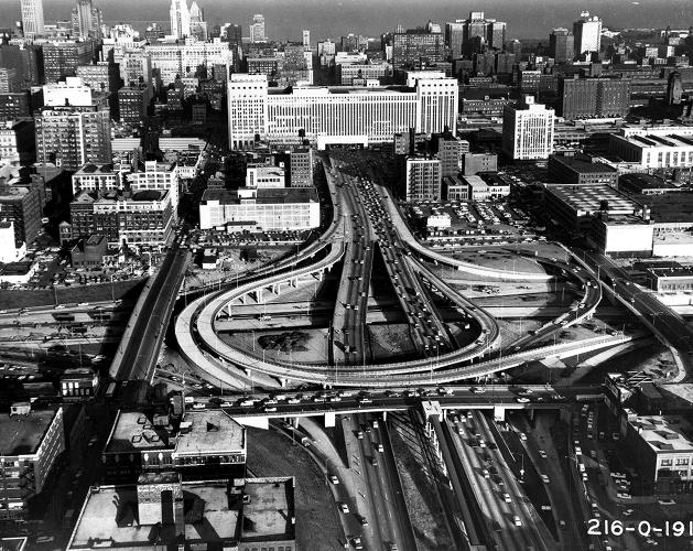 <p>The &quot;Chicagoisms,&quot; principles that drive the city, include mantras like Vision Shapes History, Optimism Trumps Planning, Ambition Overcomes Nature, Technology Makes Spectacle and Crisis Provokes Innovation. The Circle Interchange, now one of the nation's worst bottlenecks, is an example of &quot;Optimism Trumps Planning.&quot;</p>