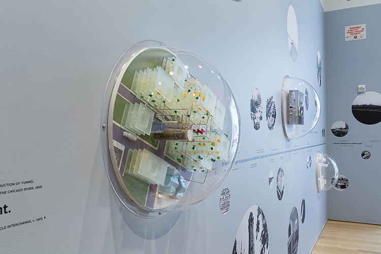 <p>The exhibition is &quot;a call for architecture and urbanism to once again dream big, even if those dreams turn into nightmares,&quot; says Alexander Eisenschmidt, who developed the idea of Chicagoisms with Jonathan Mekinda.</p>