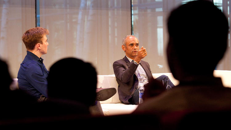 <p>Just days before his Supreme Court hearing, <a href=&quot;http://www.fastcompany.com/3028897/most-innovative-companies/aereo-will-soon-be-available-on-chromecast&quot; target=&quot;_self&quot;>Aereo</a> CEO Chet Kanojia spoke with <em>Fast Company</em>'s Austin Carr about a decision that could shut down his startup. &quot;Do I look stressed?&quot; he joked.</p>